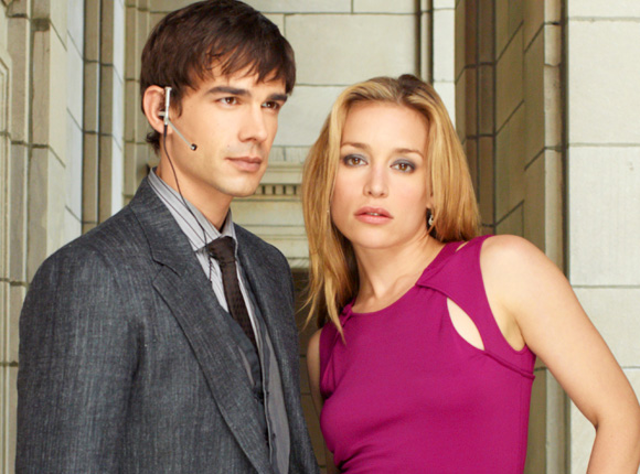 Three scenes from Covert Affairs